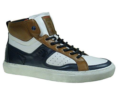 oliver Branco 15202 Castanho 24 De Azul 5 Homem Sapatos O6 Sneakers Marfim Combinado S FqdAwq