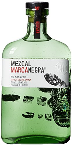 Mezcal Marca Negra Espadin, 1er Pack (1 x 700 ml)