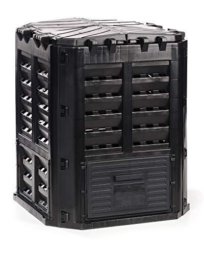 myGardenlust Komposter 320 Liter - Schnellkomposter aus Kunststoff - Thermokomposter als praktisches Stecksystem - Kompostierer stabil und hochwertig -...