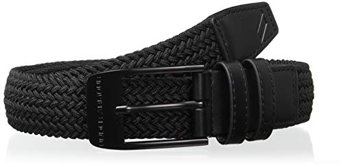 Stretch-golf (Under Armour Herren Braided 2.0 Gürtel, Schwarz, 42)