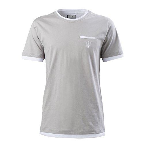 maserati-tee-shirt-gris-blanc-avec-pochette-pour-homme