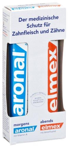 Aronal/Elmex Mundhygiene Set, 150 ml, 2er Pack (2 x 150 ml)