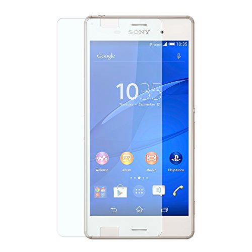 iProtect 2in1 Set Screen Protector + Back Protector Tempered Glass Hartglas Schutzfolie für Sony Xperia Z3 Display + Rückseite Schutzglas 0,3mm