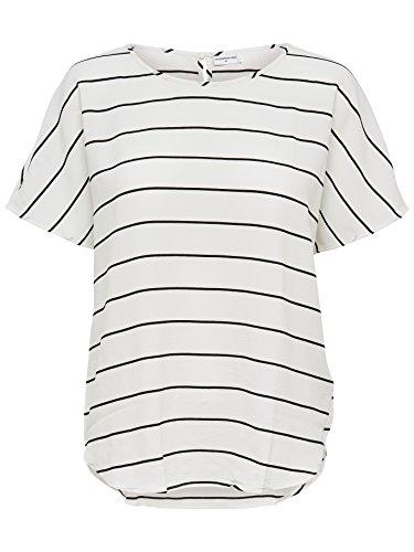 JACQUELINE de YONG Top Shirt Bluse JDYPERFECT 15134510 cloud dancer