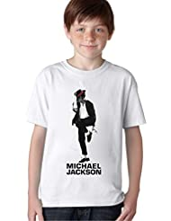 Michael Jackson King Of Pop Unisex Baby Kids T-Shirt Ages 5-13