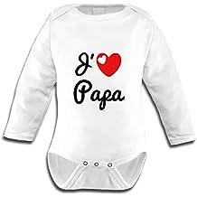 9917f914a5ffa Amazon.fr : body bébé j'aime papa - Livraison internationale disponible