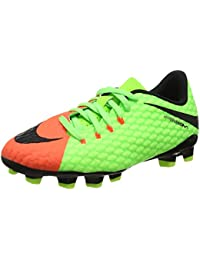 Nike Jr. Hypervenomx Phelon 3 Fg, Scarpe da Calcio Unisex – Bambini