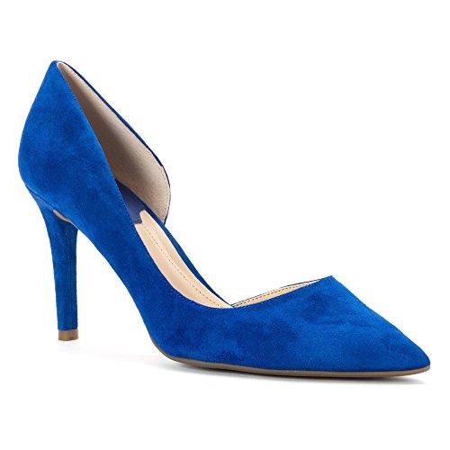 Marc Fisher Zanetti Femmes Daim Talons blue