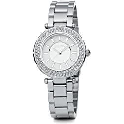 Ladies' Folli Follie Watch - Stainless Steel - The Beautime Collection WF1A019BSS