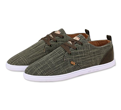 Djinns Homme Chaussures / Baskets Low Lau Indo Lin Oliva
