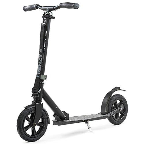 Frenzy - pneumatischer Klapp-Roller - 205 mm Lufträder - schwarz