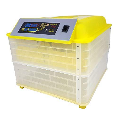 STEY Mini 112 automatische Ei-Temperaturregelung Hoch-und Niedertemperatur-Alarm Hühner-Inkubator Digitale konstante Temperatur zu Hause Labor Farm Lehrmittel Inkubator -