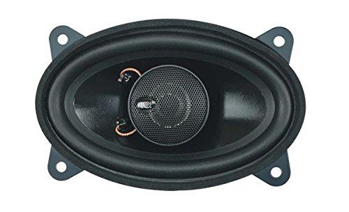 Dietz 2-Wege Koax-Lautsprecher,4x6 Zoll 9x15 cm, oval, 80 W. 1 Paar 4-wege 2-wege Lautsprecher
