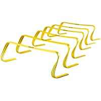 SKLZ 6x Hurdles- 6 Ultra Durable, All Purpose Speed Training, Agility, and Plyometric Hurdles (Set of 6). by SKLZ