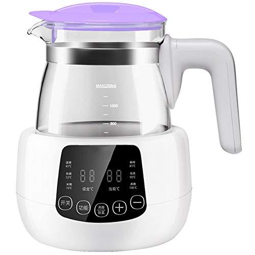 Spule Wasserkocher (YXLONG Baby-Wasserkocher-Thermostat Multifunktionale Baby Flaschenwärmer 29 Sekunden Um Die Milch Zu Spülen DREI Farben Optional,Purple)