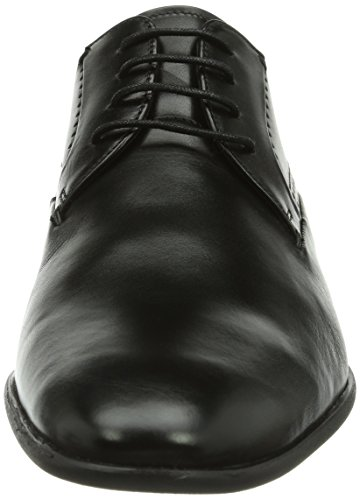 Daniel Hechter - HB38061, Scarpe stringate da uomo Nero (Schwarz (schwarz 100))