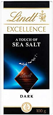 Lindt Excellence Dark Sea Salt, 100 gm