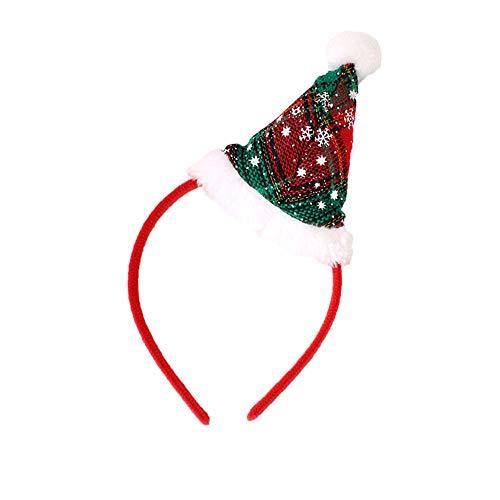 Hot Kostüm Santa - Mitlfuny Weihnachten Home TüR Dekoration 2019,Hot Christmas Stirnband Santa Xmas Party Decor Doppel Haarband Verschluss Kopfband