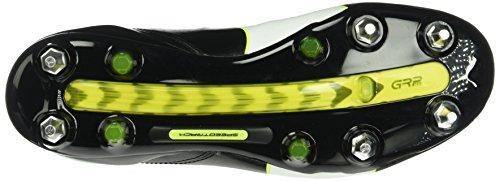 Puma Herren evoTOUCH Pro MX SG Fußballschuhe Schwarz (black-white-safety yellow 01)