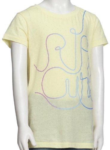 RIP CURL Kinder Kurzarm T-Shirt Arabesque T-Shirt, Wax Yellow, 170, JTELGP_3245 Arabesque Tee