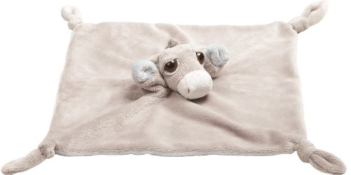Suki Gifts 10058 - Baby Esel Pablo als Finger Puppe, 30.5 cm, grau