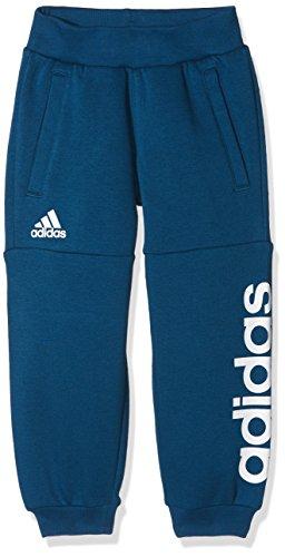 Adidas LK Lin Sweat PA Hose, Kinder M blau (azunoc / weiß) (Lk Hose)