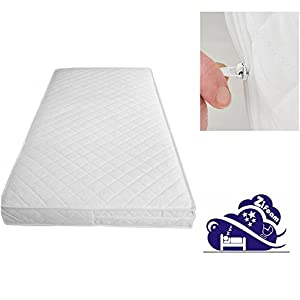 Cot Mattress Probiotic Airflow Crib Mattress Care Size 89x38x5cm) Mother & Dad