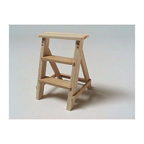 Unbekannt Liebe HANDARBEIT 46147 Stufentritt Holz 1:12 für Puppenhaus