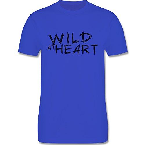 Festival - Wild at heart - Herren Premium T-Shirt Royalblau