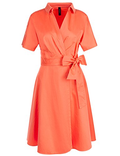 Marc Cain Collections Gc 21.69 W56, Robe Femme Gelb (sunrise 468)