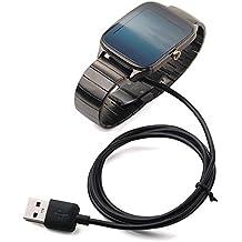 BlueBeach® Reemplazo USB carga cable cargador Dock para Asus ZenWatch Zen Watch 2nd Generation (No es adecuado para Zen watch 1)