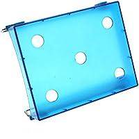HuntGold Kreativ Bequem Zucken Kühlschrank Frisch Abstandsschicht Lagerregal Box - Blau