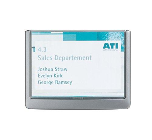 Durable 486137 Click Sign Türschild (149 x 105,5 mm, zum Ankleben oder Anschrauben) graphit