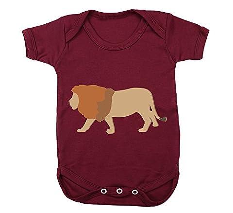 Hippowarehouse Lion baby vest boys girls