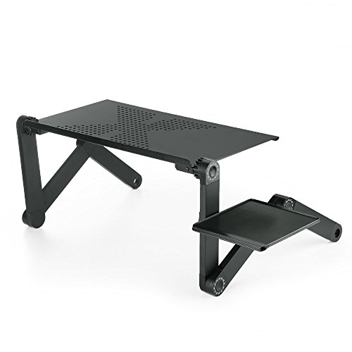 zipom ergonomic lapdesk 360 laptop stand portable adjustable multifunctional folding table. Black Bedroom Furniture Sets. Home Design Ideas