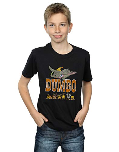 (Disney Jungen Dumbo The One and Only T-Shirt Schwarz 12-13 years)