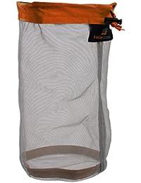 Ultra Light Blanket Cloth Jacket Mesh Storage Bag Stuff Sack for Tavel Camping Flat Size 32 x 23cm