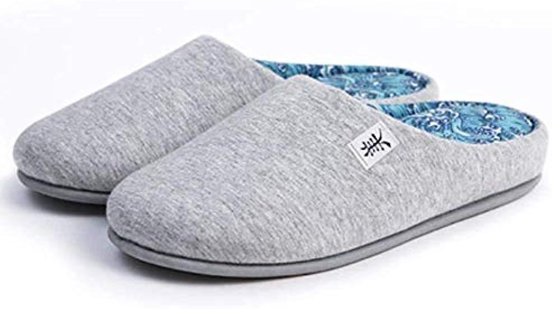 Yingsssq Pantofole in Cotone per casa, Pavimento e Fondo, morbide Scarpe da Baotou deodoranti Mute, Nero, 35-36... | prendere in considerazione  | Gentiluomo/Signora Scarpa