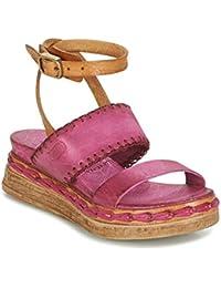 8586cf16f255 Airstep   A.S.98 Lagos Sandalen Sandaletten Damen Rose Sandalen Sandaletten