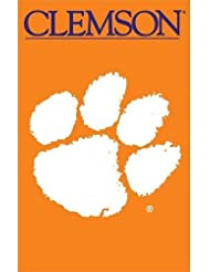 Party Animal Sports Fan NCAA Team Clemson Tigers Applique Banner Flag by Party Animal inc