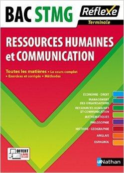 Toutes les matires Terminale STMG - Ressources humaines et Communication de Sandrine Albinet ,Anne VERE ,Amaury d'Ayrenx ( 12 aot 2015 )
