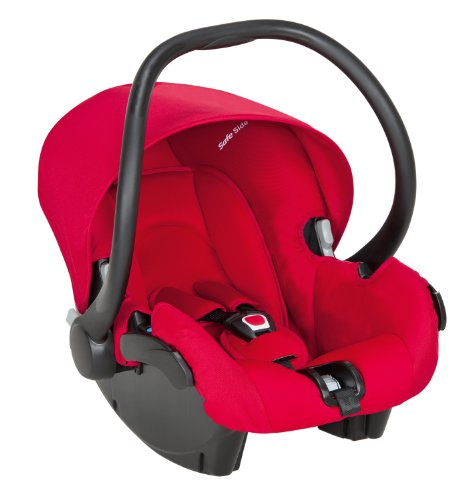 Safety 1st 80217650 - One Safe XT Babyschale, Kindersitz Gruppe 0+, bis 13 kg, rot