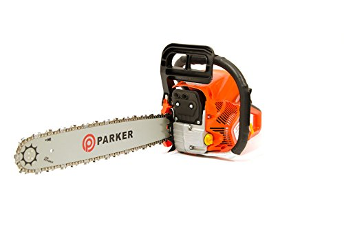 Trononneuse-thermique-Parker-62-cm-Longueur-de-guide-de-50cm-2-chaine-sac-de-transport-et-kit-doutilscache