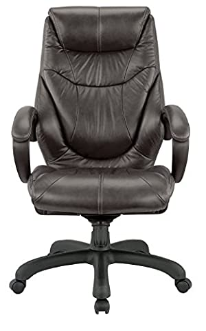 Nicer Furniture® Genuine Leather High Back Executive Chair