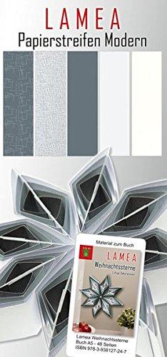 LAMEA Papierstreifen Modern für Weihnachten: Papier für Bücher: LAMEA Weihnachtssterne, LAMEA Weihnachten (LAMEA - Luftige Dekorationen aus Papier)