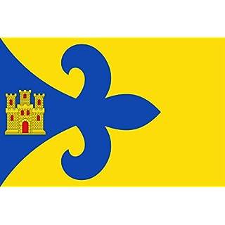 DIPLOMAT Flagge Ayerbe | Ayerbe Hoya de Huesca, Aragón | D Ayerbe Plana de Uesca, Aragón | Querformat Fahne | 0.06m² | 20x30cm für Flags Autofahnen