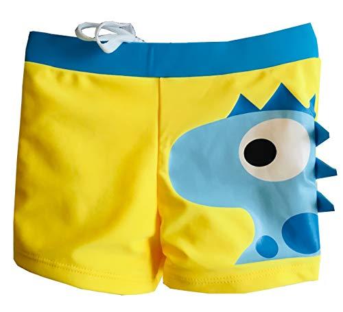 Costume da Bagno Bambino Ragazzo Pantaloncino Boxer - Moda Mare Colori Vivaci Fantasia...