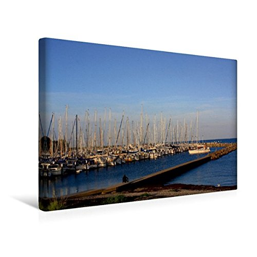 Premium Textil-Leinwand 45 cm x 30 cm quer, Ostsee: Strande | Wandbild, Bild auf Keilrahmen, Fertigbild auf echter Leinwand, Leinwanddruck (CALVENDO Sport)