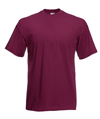 Fruit of the Loom Valueweight T-Shirt Burgundy