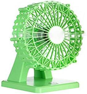 ZH Le Ventilateur Peut Être Chargé, Petit Ventilateur Usb, Grand Répulsif , Green,Vert  | Brillance De Couleur